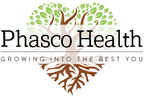 phasco health logo color growing into the best you