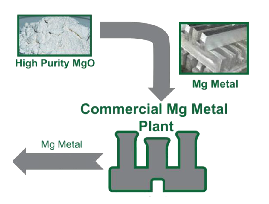Commercial Primary Purity Mg Plant