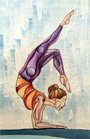 Annelle Vercuiel Scorpio Yoga Stand